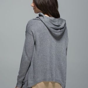 Lululemon | Cabin Yogi Wrap Heathered Medium Grey